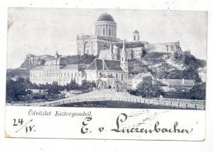 H 2500 ESZTERGOM, Kloster, 1899