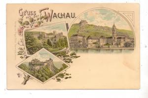 A 3601 DÜRNSTEIN, Hartenstein, Aggstein, Lithographie, ca. 1905