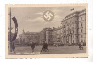 A 1000 WIEN, Schwarzenbergplatz, NS-Propaganda, 1938, Feldpost