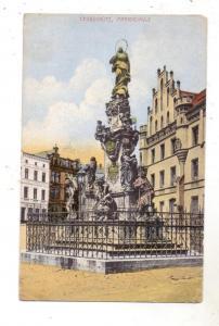 OBER - SCHLESIEN - LEOBSCHÜTZ / GLUBCZYCE, Mariensäule