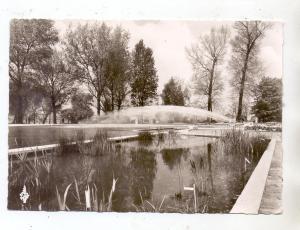 5000  KÖLN - DEUTZ, Bundesgartenschau 1957, Blumenbecken mit Wasserspiel