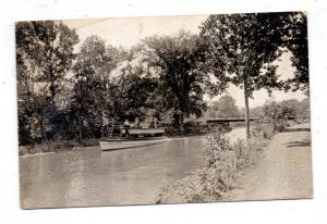 MICHIGAN - WATERVLIET, River scene, 1927