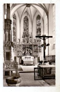 8540 SCHWABACH, Stadtpfarrkirche, Hochaltar, 1960