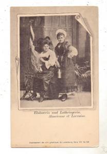 TRACHTEN - Elsääserin und Lothringerin, Verlag: Etabl. des arts graph. de Luxembourg - Bernhoeft, Serie VIII, # 159