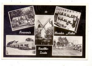 B 8300 KNOKKE - ZOUTE, Moeder Siska, Molen, Oldtimer, 1956