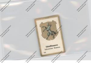 SCHAFFHAUSEN - Kantonswappen, Abdulla Sammelbild / Cinderella