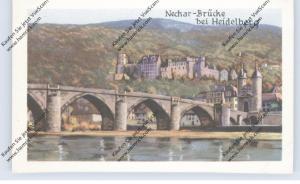 BRÜCKEN - Neckar-Brücke bei Heidelberg, Homann-Sammelbild
