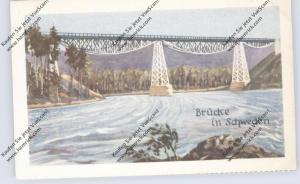 BRÜCKEN - Brücke in Schweden, Homann-Sammelbild
