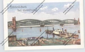 BRÜCKEN - Elbbrücken Hamburg, Homann-Sammelbild