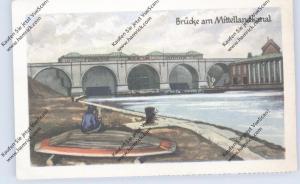 BRÜCKEN - Brücke am Mittellandkanal, Homann-Sammelbild