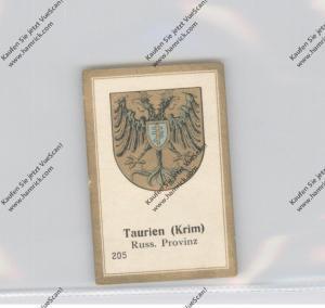 UKRAINE - KRIM / TAURIEN, Provinzwappen, Abdullah Vignette / Cinderella