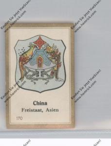 CHINA Kaiserreich, Staatswappen, Abdullah Vignette / Cinderella