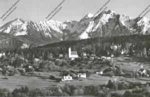 CH 7017 FLIMS - WALDHAUS GR, Gesamtansicht mit Signinagruppe, 1955