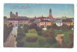UKRAINE - STANISLAU / IWANO-FRANKIWSK, Ansicht mit Hotel Bristol, deutsche Feldpost
