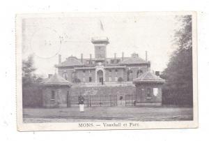 B 7000 MONS, Vauxhall & Parc, 1917, deutsche Feldpost Lazarett