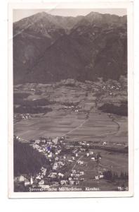 A 9813 LURNFELD - MÖLLBRÜCKE, Luftaufnahme, 1943, Druckstelle