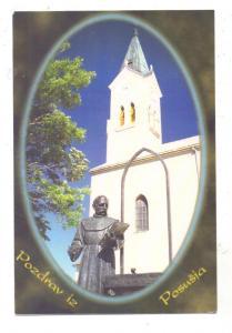 BOSNA I HERCEGOVINA, POSUSJE, Kirche, Label-Freimachung