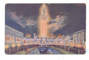 CHICAGO - White City, Electric Tower, 1909