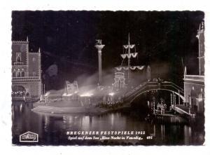 A 6900 BREGENZ, Bregenzer Festspiele 1955,