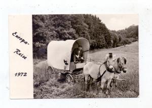 GLOBETROTTER - Europareise im Pferdewagen, Horst Klückmann 1972
