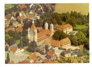 4410 WARENDORF - FRECKENHORST, Stiftskirche mit Umgebung, Luftaufnahme
