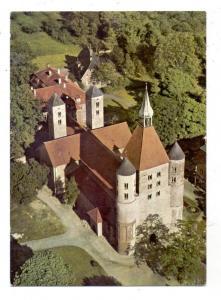 4410 WARENDORF - FRECKENHORST, Stiftskirche, Luftaufnahme, 1963
