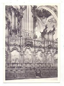 8942 OTTOBEUREN, Benediktinerabteikirche, Östliches Chorgestühl, Orgel