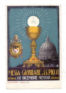 VATICAN - MESSA GLOBILARE di S.S. PIO XI, Roma 1924