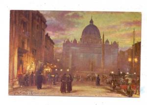 VATICAN - Piazza di San Pietro, Künstler-Karte