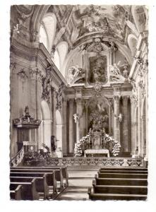 4793 BÜREN, Jesuitenkirche, Innenansicht