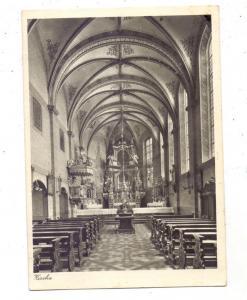 5352 ZÜLPICH - FÜSSENICH, St. Nikolaus-Stift, Innenansicht, 1955