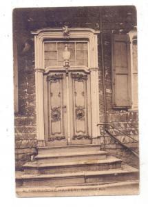5630 REMSCHEID - RATH, Eingangsbereich eines albergischen Hauses, Eckknick