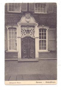 5600 WUPPERTAL - UNTERDÖRNEN, Eingangsbereich eines altbergischen Hauses, kl. Knick
