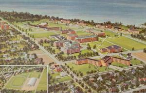 US 13126 OSWEGO N.Y., College Campus reproduction