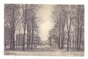 B 4600 VERVIERS, Place de Minieres, 1914