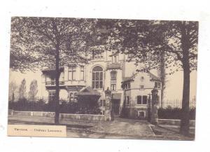 B 4600 VERVIERS, Chateau Lieutenant, Auslandszensur, 1915