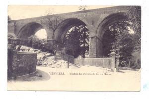 B 4600 VERVIERS, Viaduc du chemin de fer de Herve, kl. Eckknick