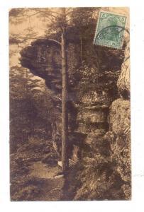 F 67720 WANGENBOURG / WANGENBURG, Partie beim Rothenfelsen, 1913