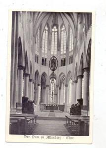 5068 ODENTHAL - ALTENBERG, Altenberger Dom, Chor, 1951