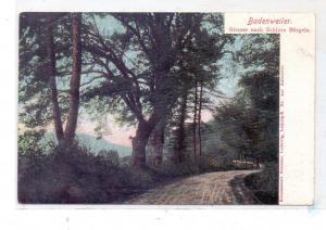7847 BADENWEILER, Strasse nach Schloß Bürgeln, ca. 1905