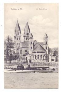 5400 KOBLENZ, St. Castorkirche, Rhein-Personenschiff