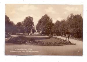 0-9630 CRIMMITSCHAU, Bismarckhain mit Wettinbrunnen