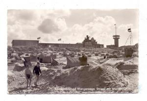 2946 WANGEROOGE, Strand mit Wetterstation, 1966