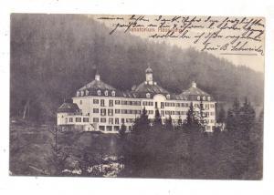 8351 SCHAUFLING, Sanatorium Hausstein, 1910