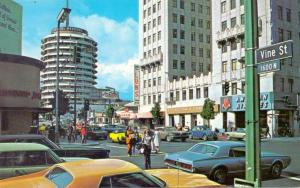 LOS ANGELES - HOLLYWOOD, Hollywood Boulevard - Vine Street, Capitol Records, Oldtimer