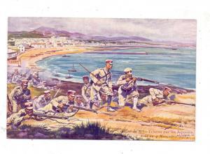 DEUTSCHE KOLONIEN - KIAUTSCHOU - TSINGTAU, Angriff japanischer Truppen 1914