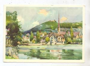 CH 8260 STEIN am Rhein SH, Künstler-Karte, Bund Schweizerischer Frauenvereine