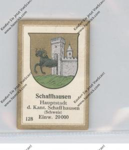 CH 8200 SCHAFFHAUSEN SH, Stadtwappen, Abdulla Sammelbild / Cinderella