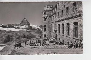 CH 3920 ZERMATT VS, Hotel Gornergrat mit Matterhorn, 1957