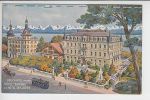 CH 2000 NEUENBURG, Hotel Terminus & Hotel des Alpes